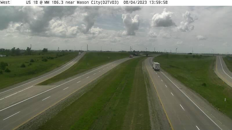 D2 - US 18 @ MM 186.3 near Mason City (03)