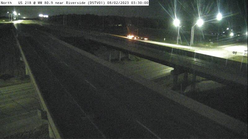 D5 - US 218 @ MM 80.9 near Riverside (D5TV01)
